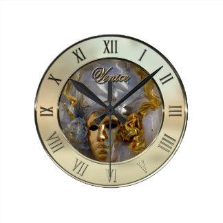 金顔 ラウンド壁時計