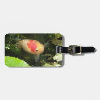 金魚のカスタムな荷物のラベル ラゲッジタグ