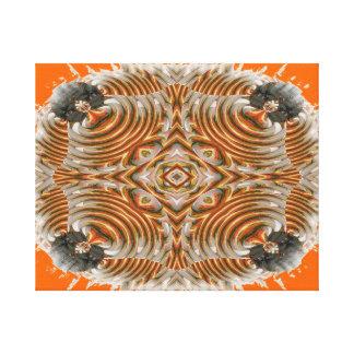 金魚のフラクタルのイメージ キャンバスプリント