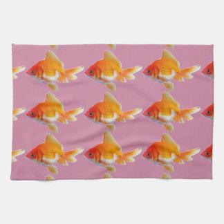 金魚の台所タオル キッチンタオル