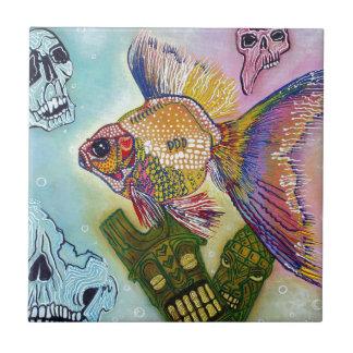 金魚の精神 タイル