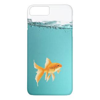 金魚のiPhone 7のプラスのやっとそこに場合 iPhone 8 Plus/7 Plusケース