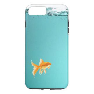 金魚のiPhone 7のプラスの堅い場合 iPhone 8 Plus/7 Plusケース