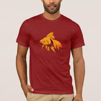金魚メンズTシャツ Tシャツ