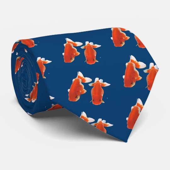 金魚 オリジナルネクタイ
