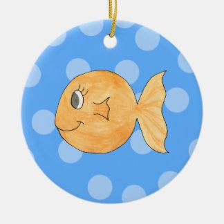 金魚 セラミックオーナメント