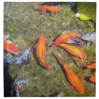 金魚 ナプキンクロス