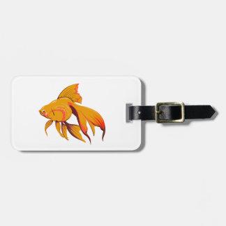 金魚 ラゲッジタグ