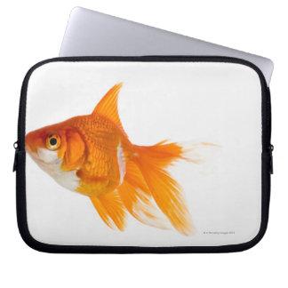 金魚、側面図 ラップトップスリーブ