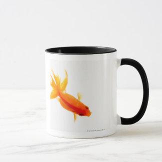 金魚、頭上式の眺め マグカップ