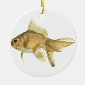 金魚、魚 セラミックオーナメント