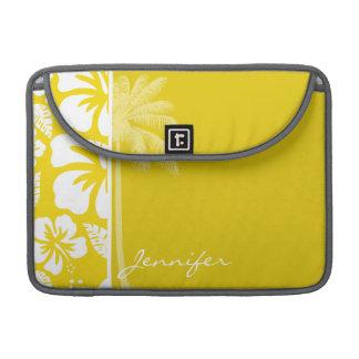 金黄色いハワイの熱帯やし MacBook PROスリーブ