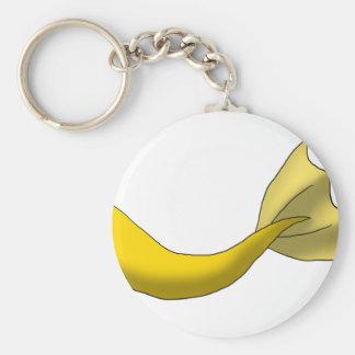 金黄色い人魚の尾 キーホルダー