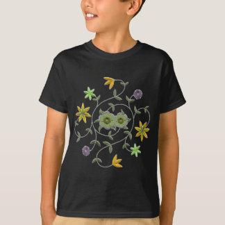 金黄色く賢明な春の花園 Tシャツ