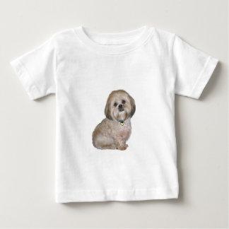 金/クリーム(a)ラサApso - ベビーTシャツ