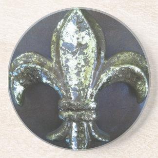 金(紋章の)フラ・ダ・リのコースター コースター
