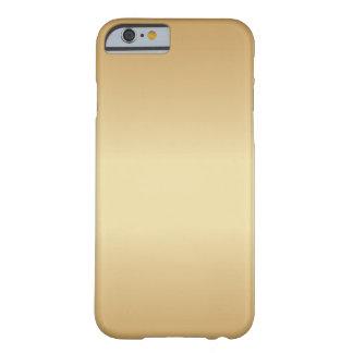 金 BARELY THERE iPhone 6 ケース