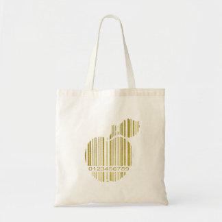 金Apple トートバッグ