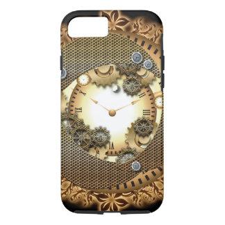 金colorsgのSteampunk、時計およびギア iPhone 8/7ケース