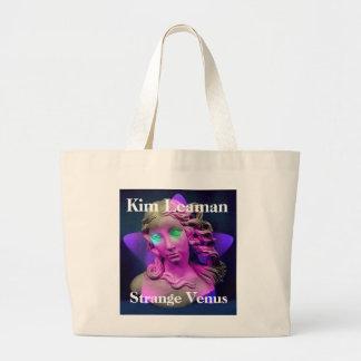 金Leaman奇妙な金星のアルバムバッグ ラージトートバッグ