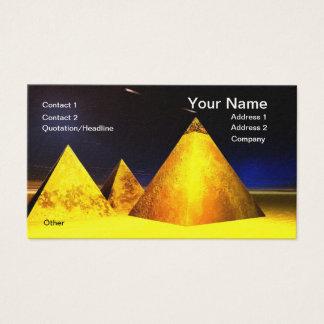 金Piramids BusinessCard 名刺