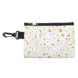 金Stars2 -純粋な白 アクセサリーバッグ