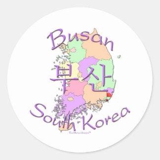 釜山広域市南朝鮮 ラウンドシール
