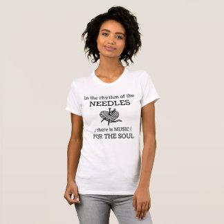 針のリズム Tシャツ