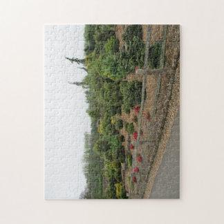 針葉樹場面のジグソーパズル ジグソーパズル