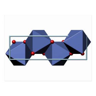 針鉄鉱の分子 ポストカード