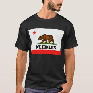 針、カリフォルニア Tシャツ