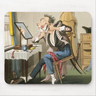 鈍いかみそり、パブ。 狩りによって、1827年(着色されたetchin マウスパッド