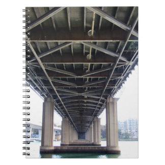 鉄の入江橋ノート ノートブック
