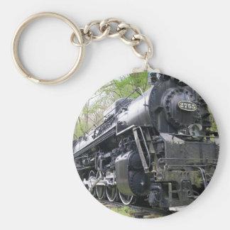 鉄の列車の古い学校の獣 キーホルダー
