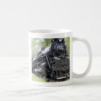 鉄の列車の古い学校の獣 コーヒーマグカップ