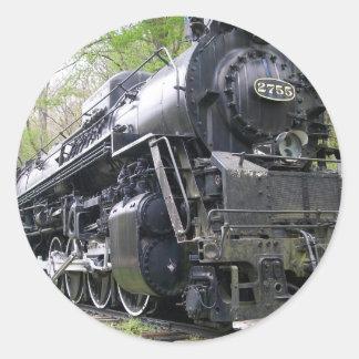 鉄の列車の古い学校の獣 ラウンドシール