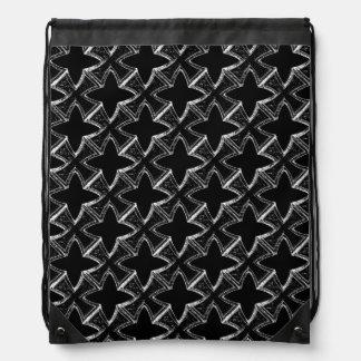 鉄の十字のドローストリングのバックパック ナップサック