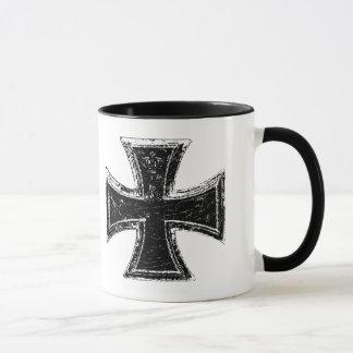 鉄の十字のマグ マグカップ