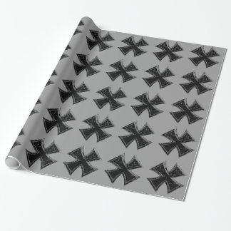 鉄の十字の包装紙 包装紙