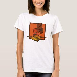 鉄のshaolinのバニーの激怒 tシャツ