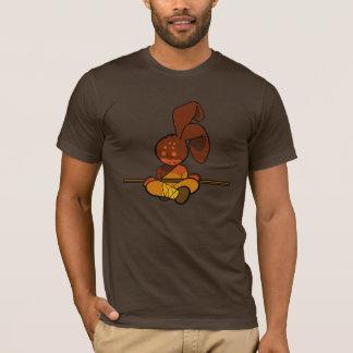 鉄のshaolinのバニー tシャツ