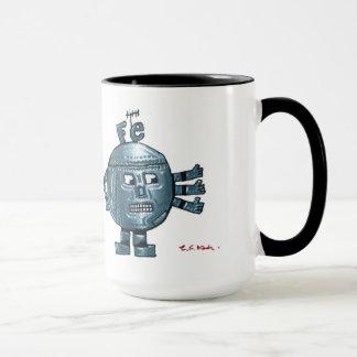 鉄原子のキャラクターのマグ マグカップ