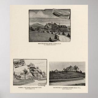 鉄山の家、ジャクソン、NH プリント