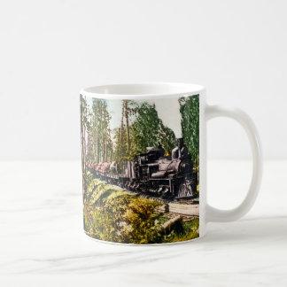 鉄山、ミシガン州の記録列車 コーヒーマグカップ