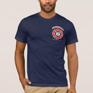 鉄木の火の義務のワイシャツ Tシャツ