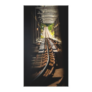 鉄道でピークを取ること キャンバスプリント