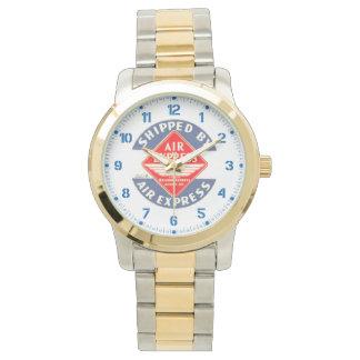 鉄道の明白な代理店によって航空速達を使用して下さい 腕時計