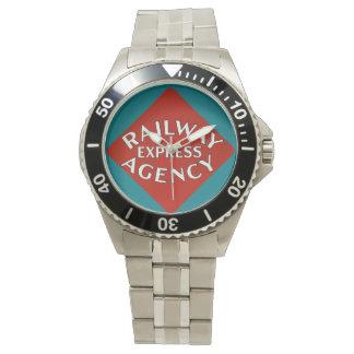 鉄道の明白な代理店 腕時計