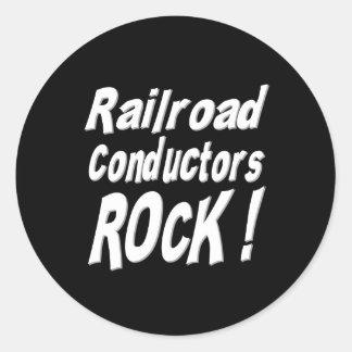 鉄道コンダクターの石! ステッカー