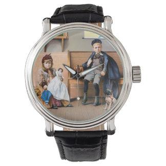 鉄道ポスター1898年 腕時計